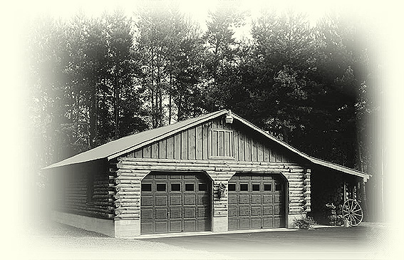 Stoney Ridge Log Homes Garage Packages